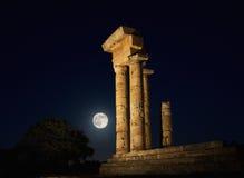 Templo de Apolo Imagen de archivo libre de regalías