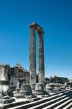 Templo de Apolo en Didyma, Turquía Foto de archivo libre de regalías