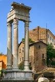 Templo de Apolo, Teatro di Marcelo, Roma Imagen de archivo