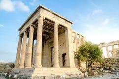Templo de Arrephorion Fotos de Stock Royalty Free