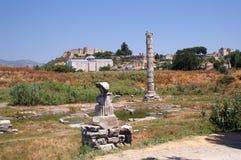Templo de Artemis Foto de Stock