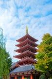 Templo de Asakusa Fotos de archivo