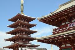 Templo de Asakusa Fotografía de archivo