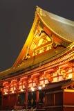Templo de Asakusa en Tokio Japón Imagen de archivo libre de regalías