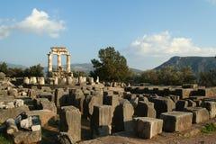 Templo de Athena foto de stock royalty free