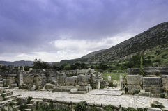 Templo de Athena de Ephesus Imágenes de archivo libres de regalías
