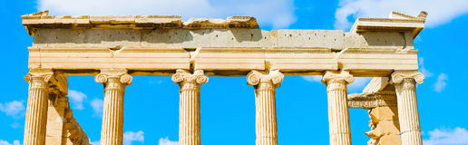 Templo de Athena Nike en Grecia Fotos de archivo libres de regalías
