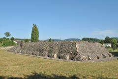 Templo de Augusta Raurica Roman Fotografia de Stock