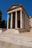Templo de Augustus fotografia de stock royalty free