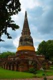 Templo de Ayutthaya Fotografia de Stock