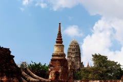 Templo de Ayutthaya en Tailandia imagen de archivo libre de regalías