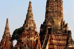 Templo de Ayutthaya de Tailândia imagem de stock royalty free