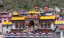 Templo de Badrinath imagenes de archivo