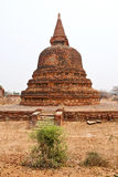 Templo de Bagan Fotografia de Stock