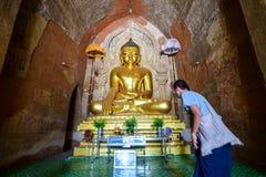 Templo de Bagan Fotografia de Stock Royalty Free