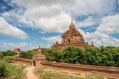 Templo de Bagan, Myanmar de Htilominlo Fotos de archivo