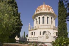 Templo de Baha'i en Haifa fotografía de archivo libre de regalías