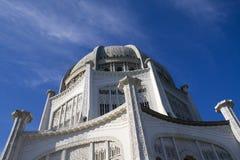 Templo de Baha'i en Wilmette Fotos de archivo