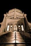 Templo de Bahai en Chicago fotos de archivo