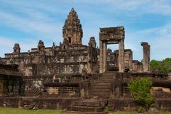 Templo de Bakong, Camodia Foto de Stock Royalty Free