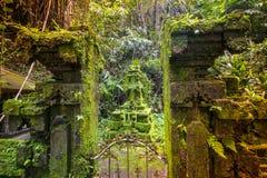 Templo de Bali em Ubud, Indonésia Foto de Stock Royalty Free