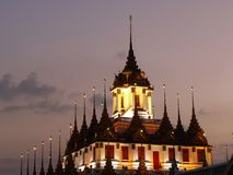 Templo de Bangkok Fotografía de archivo libre de regalías