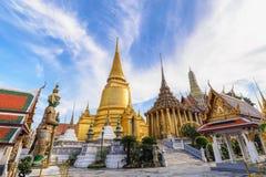 Templo de Banguecoque Tailândia Wat Phra Kaew imagem de stock royalty free