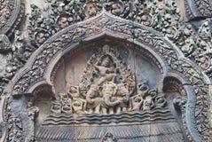 Templo de Banteay Srei Foto de archivo libre de regalías