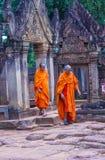 Templo de Banteay Srei en Camboya Foto de archivo