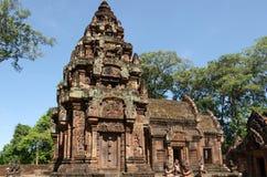 Templo de Banteay Srei en Siem Reap Foto de archivo libre de regalías
