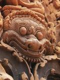 Templo de Banteay Srei perto de Angkor Wat, Cambodia. imagem de stock