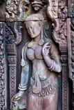 Templo de Banteay Srey, Camboya Foto de archivo libre de regalías