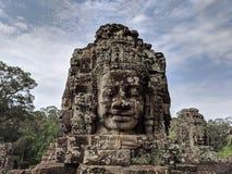 Templo de Bayon imagenes de archivo