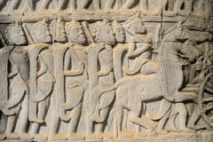 Templo de Bayon Imagens de Stock Royalty Free
