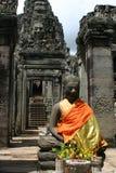 Templo de Bayon Imagem de Stock