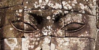 Templo de Bayon fotografía de archivo