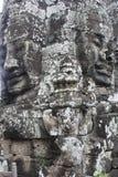 Templo de Bayon Fotos de archivo libres de regalías