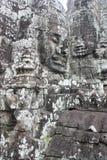 Templo de Bayon Imágenes de archivo libres de regalías