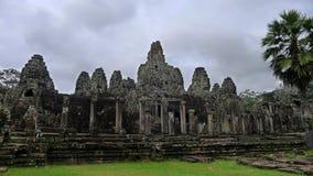 Templo de Bayon Fotografia de Stock Royalty Free