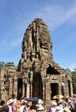 Templo de Bayon Fotos de Stock