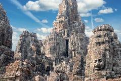 Templo de Bayon Foto de archivo libre de regalías