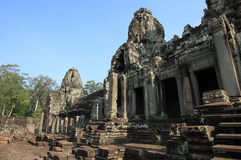 Templo de Bayon, Angkor Wat Imágenes de archivo libres de regalías