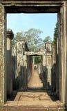 Templo de Bayon, Angkor Wat Imagenes de archivo