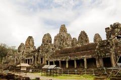 Templo de Bayon. Cambodia. Fotografia de Stock