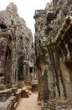 Templo de Bayon, Camboya Imágenes de archivo libres de regalías