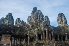 Templo de Bayon de Siem Reap, Camboja fotos de stock
