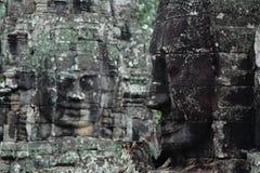 Templo de Bayon em Angkor Thom Imagens de Stock Royalty Free