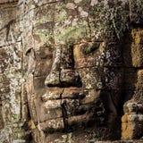 Templo de Bayon en Angkor Fotografía de archivo libre de regalías