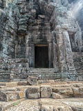 Templo de Bayon, Siem Reap Imagen de archivo libre de regalías