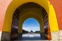 Templo de Beijing de céu fotos de stock royalty free